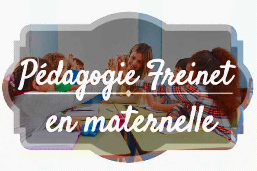 Pédagogie Freinet en maternelle