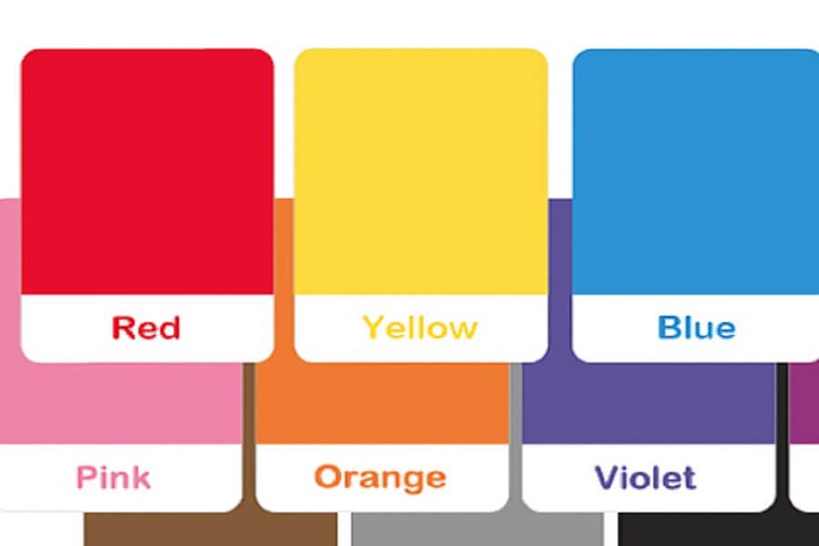 Cartes colorées en classe