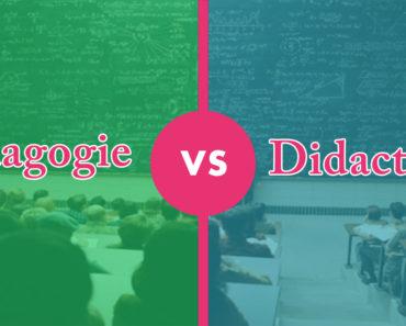 différence entre pédagogie et didactique