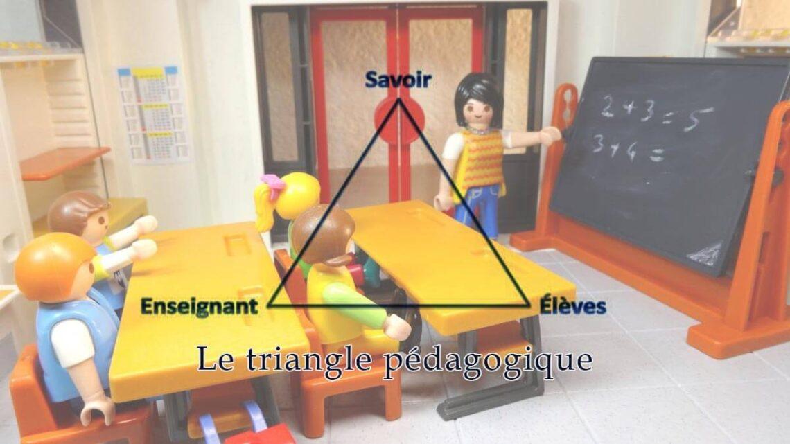 qu'est-ce que le triangle pédagogique
