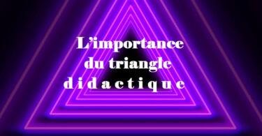 L'importance du triangle didactique