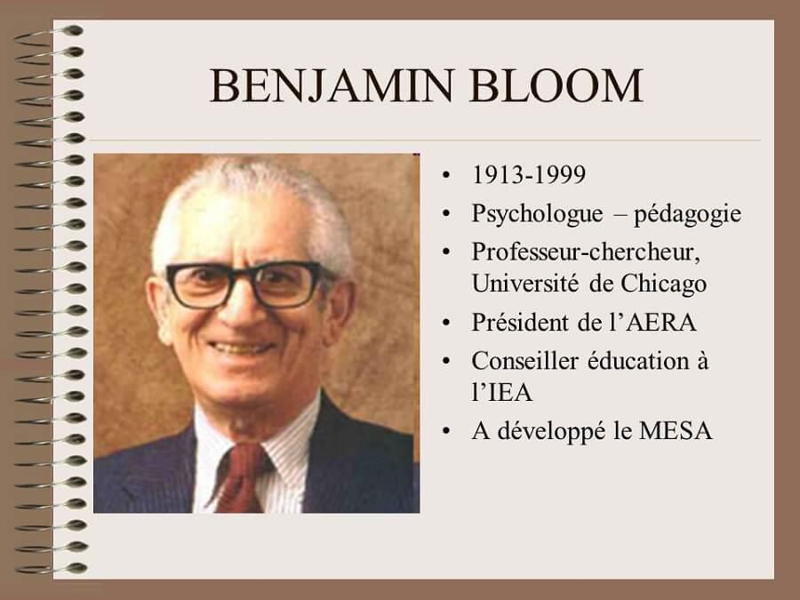 Bejamin Bloom Biographie Taxonomie